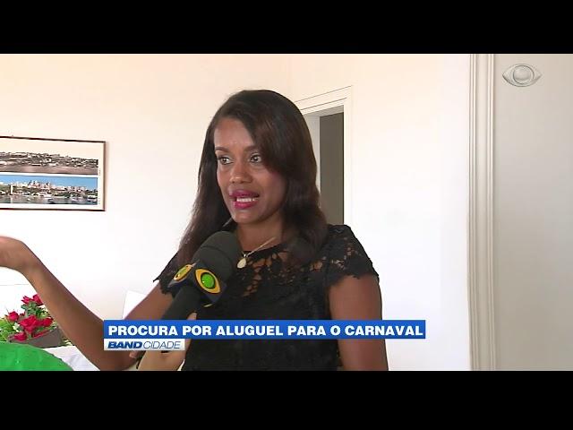 Band Cidade - A procura por aluguel para o carnaval de Salvador
