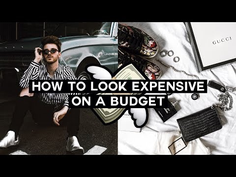 How to Look EXPENSIVE on a BUDGET - Shopping HACKS + Style Tips // Imdrewscott