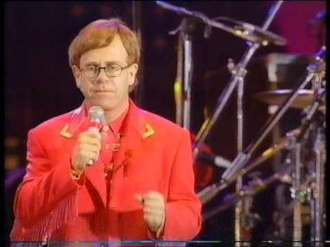Elton John - The Show Must Go On - Freddie Mercury Tribute Concert - BBC1 - Monday 20th April 1992