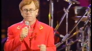 Elton John - The Show Must Go On - Freddie Mercury Tribute Concert - BBC1 - Monday 20th April 1992