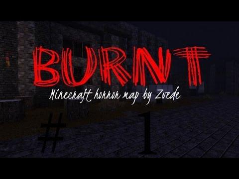 Minecraft Horror Burnt map #1 Машина времени