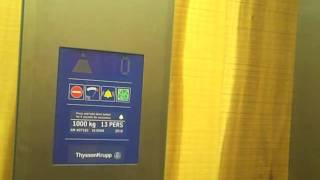 Thyssenkrupp Lift @ Urban Outfitters In Bath Spa.avi