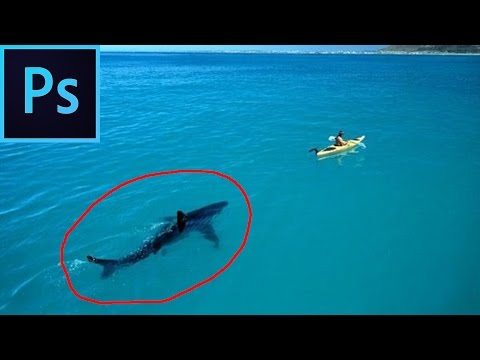Как в Фотошопе убрать объект за 3 секунды shift+F5 быстро и легко . Photoshop cc