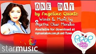 One Day by Angeline Quinto (Lyric Video)