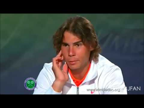 Rafael Nadal - Funny Moments! PART 1 ♡  (Reupload)