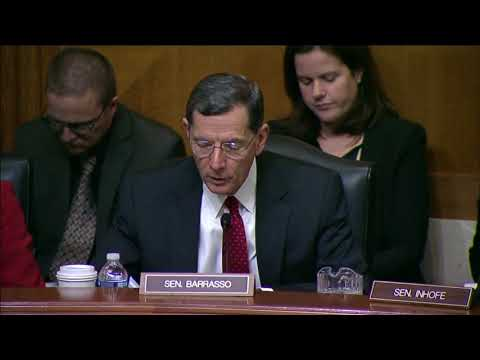 Barrasso: This hearing underscores the need to upgrade and maintain our highways and shipping lanes