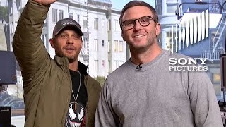 VENOM - Tom Hardy Live from the Set
