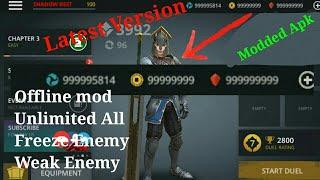 Shadow Fight 3 (Offline) mod + Unlimited money, unlimited Gems, obb+data mega mod apk