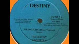 The Destiny Orchestra - Spring Rain DISCO/INSTRUMENTAL 1978