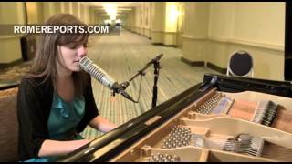 Sarah Kroger, the promising, young, and Catholic pop singer