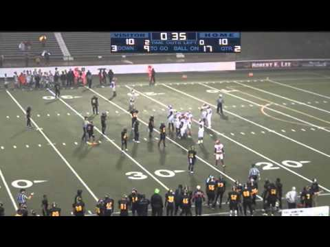 Football:  Tyler vs Navarro College (SWJCFC Semifinal)