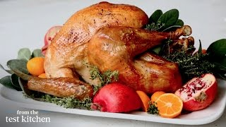 Roasted Turkey With Dry Brine - Everyday Food - From The Test Kitchen
