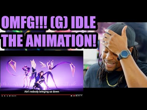 (G)I-DLE | K/DA - POP/STARS (ft Madison Beer, Jaira Burns) | MV - League of Legends | Reaction!