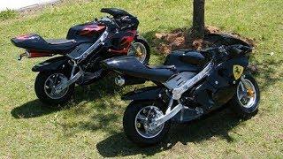 Nhá Hàng Xe Mô tô Mini Chạy Xăng Pha Nhớt moto Ducati - Asun.vn