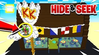 HIDE & SEEK IN THE WORLD'S BIGGEST KRUSTY KRAB!