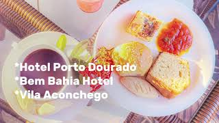 Café da manhã e Café da tarde servido todos os dias nos hotéis da Rede Bem Bahia