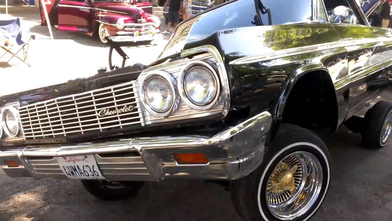 64 Impala Lowrider Standing 3 Wheel Youtube