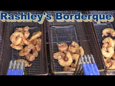 Fried Shrimp And Fish On R & V Cajun Fryer