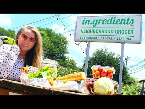 Zero Waste Grocery Shopping + Haul | in.gredients in Austin, TX