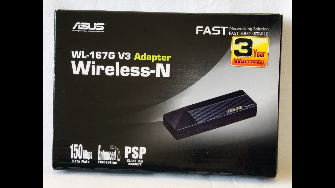 ASUS WL-167G DRIVERS FOR WINDOWS XP