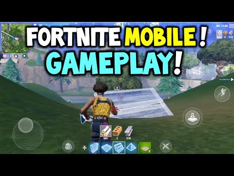 FORTNITE MOBILE GAMEPLAY! EASY WIN?! CODES? - Fortnite Battle Royale Mobile Gameplay IOS (Live Talk)