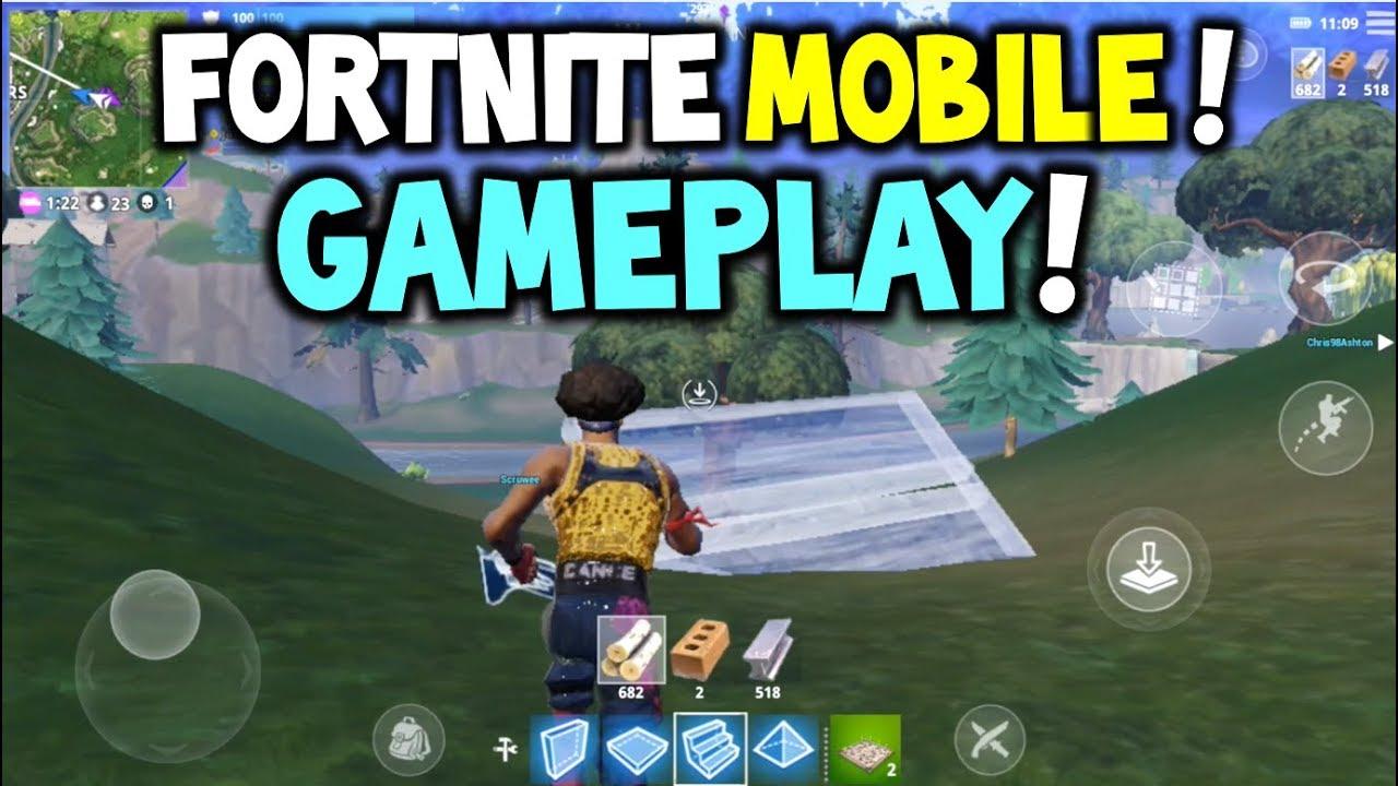 Fortnite Mobile Gameplay Easy Win Codes Fortnite Battle Royale
