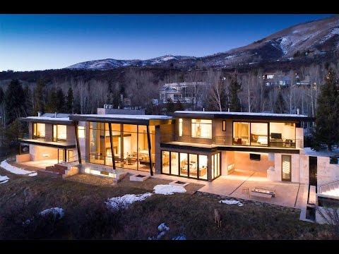 New & Striking David Johnston Contemporary in Aspen, Colorado