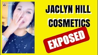 JACLYN HILL COSMETICS EXPOSED THE TRUTH
