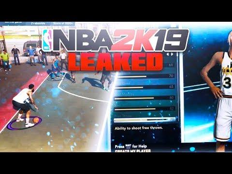 NBA 2k19 *New* PARK Gameplay info LEAKS! 😳 Best 2k Comin🤔