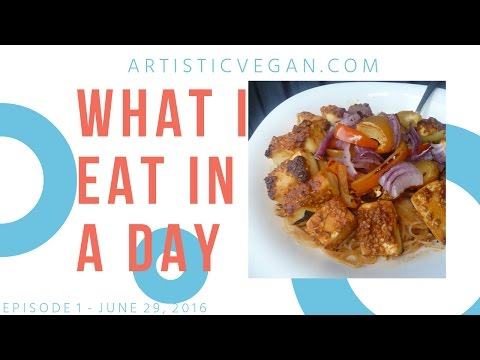 What I Eat in a Day #1 | Healthy Plant-Based Recipes