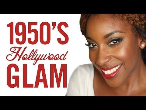 1950's Vintage Hollywood Glam with Jackie (lilpumpkinpie05) // I love makeup.