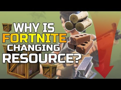 WAIT Why Is Fortnite CHANGING Resources? - Fortnite News Update