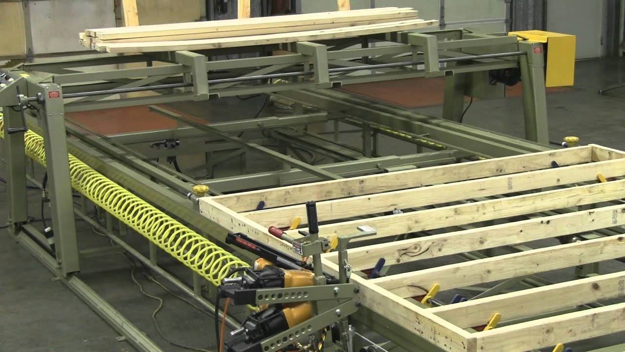 Superbe The Complete Video On The 80 Ft Framing Table, Dolly Rails And Material  Bridge