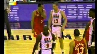 Venezuela vs USA (The Dream Team).Final Preolímpico Portland 1992. RCTV