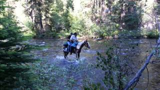 North Fork John Day River Wilderness Trail Ride 0004