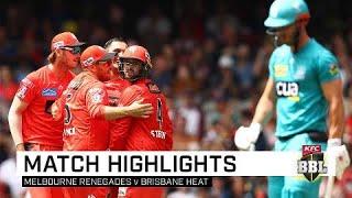 Ruthless Renegades crush Heat's finals hopes | KFC BBL|09