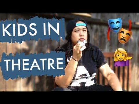 Types of Kids in Children's Theatre Audiences