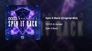 Spin It Back (Original Mix)