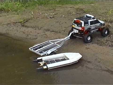 rc truck and boat trailer with Watch on BigDog 110 Dual Axle Scale Boat Trailer p 4479 in addition Fan Friday Featured Build By John Tujillo as well Straight Six engine also BigDog 110 Dual Axle Scale Boat Trailer p 4479 together with Watch.