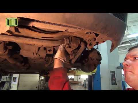 Daewoo Matiz - замена комплекта сцепления / TRIALLI