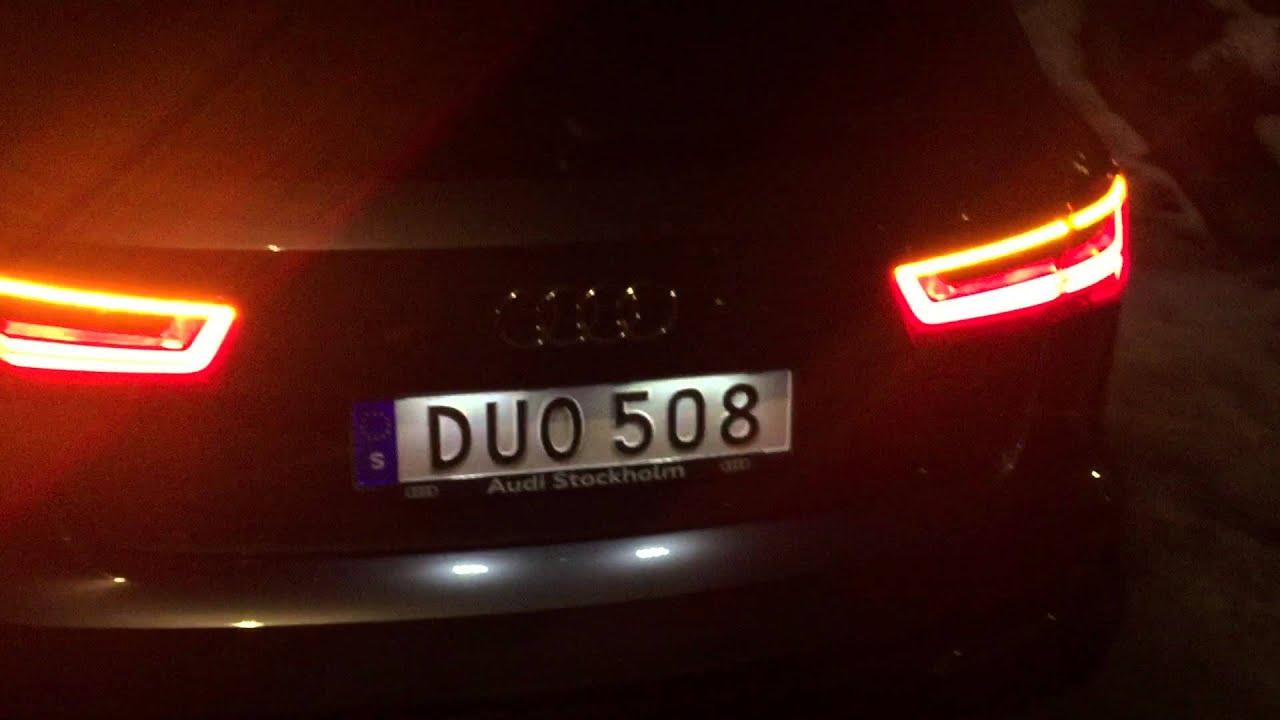 Audi A6 Sweeping Led Turn Signal Indicators Dyamic Turning Lights