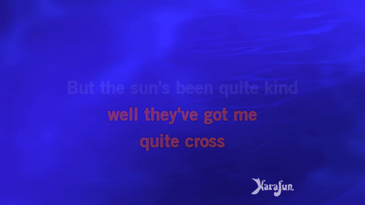 Elton John - Your Song - Karaoke - 1970