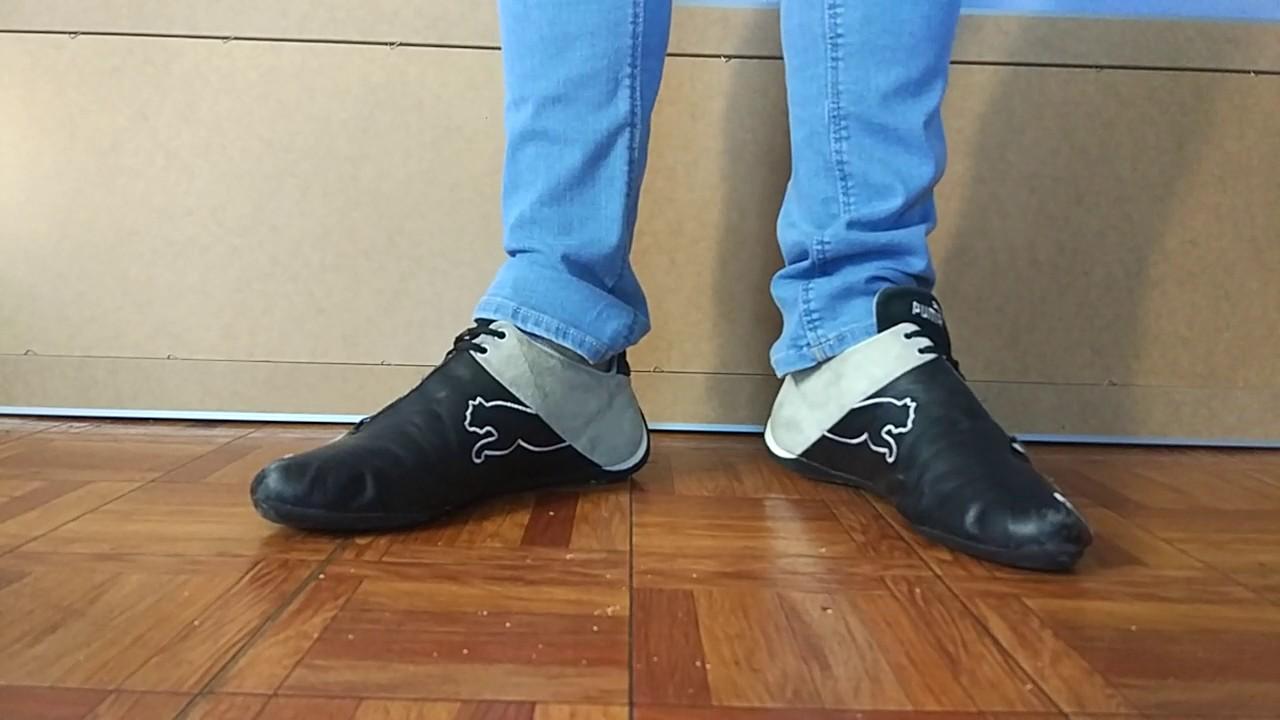 f3539f16a32c14 Puma future cat black and blue skinny jeans - YouTube