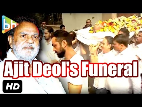 Bollywood Bids Final Goodbye To Ajit Singh Deol