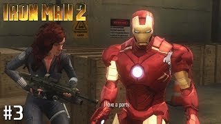 Iron Man 2 - Xbox 360 Playthrough Gameplay - Mission 3: The Crimson Dynamo