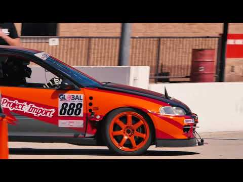 "Project Import: GTA Round 5 Auto Club Speedway ""Roval"" Civic EG Time Attack"