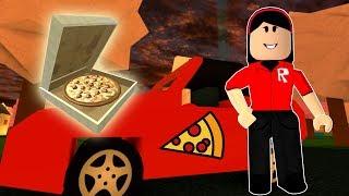 A ENTREGADORA DE PIZZAS ATÔMICA!!! - ROBLOX (WORK AT A PIZZA PLACE)