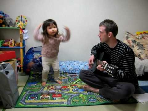 500 Yen Guitar Head Shoulders Knees And Toes Take 1 Youtube
