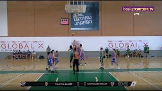 U12M - VALENCIA BASKET vs EBG MÁLAGA.- Torneo MARCA La Roda U12M Future Stars 2021