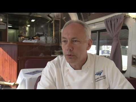 Heartland Food Prepared and Served on Amtrak - America